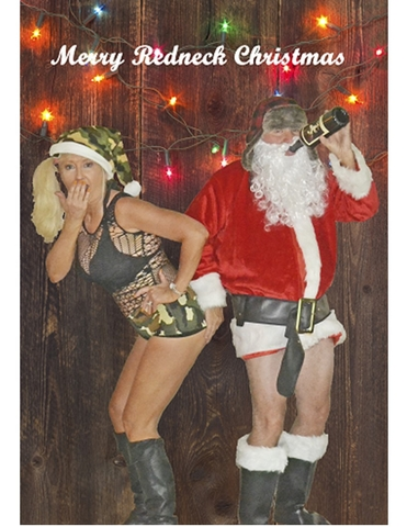 Merry Redneck Christmas Card